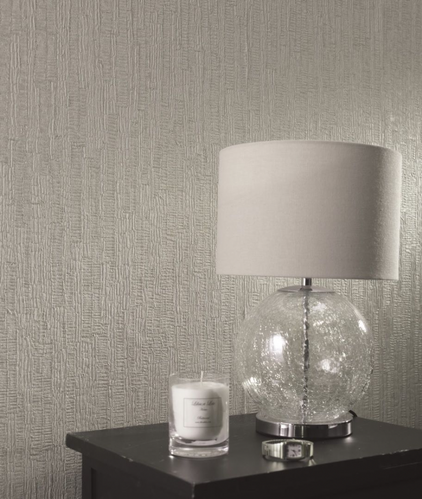 Holden Decor Ornella Bark Grey 35273 Wallpaper